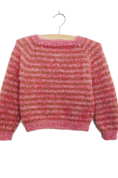 Erna Jumper Kid (english) knitting pattern