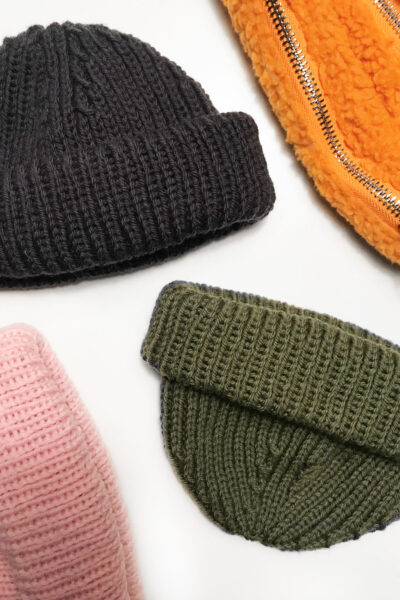 Mr. Beanie (English) knitting pattern