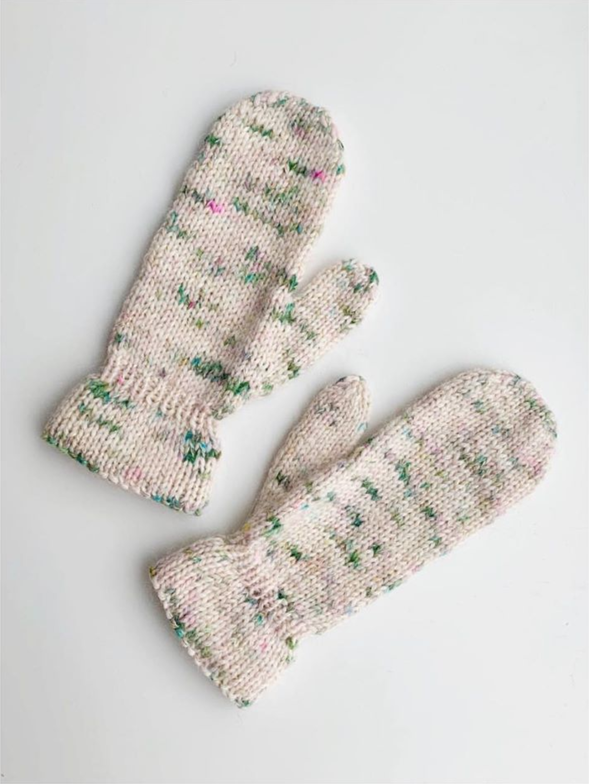 The Luxury Mittens (English) knitting pattern