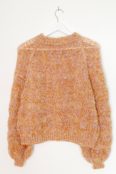 Happy Jumper (English) knitting pattern